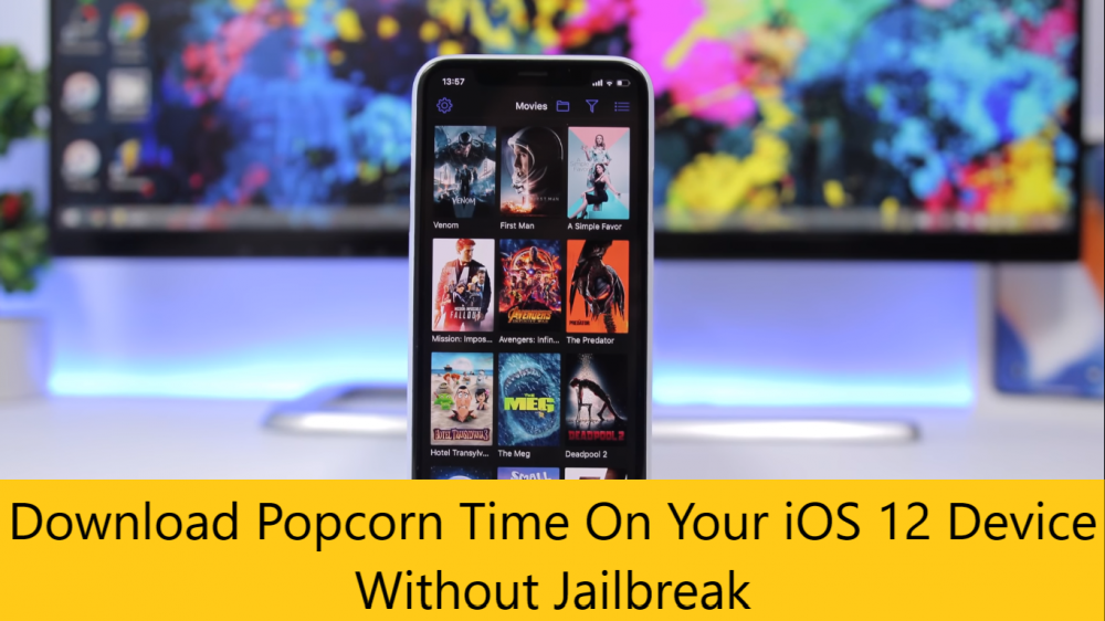 How to download popcorn time movies app for iOS 12 - No