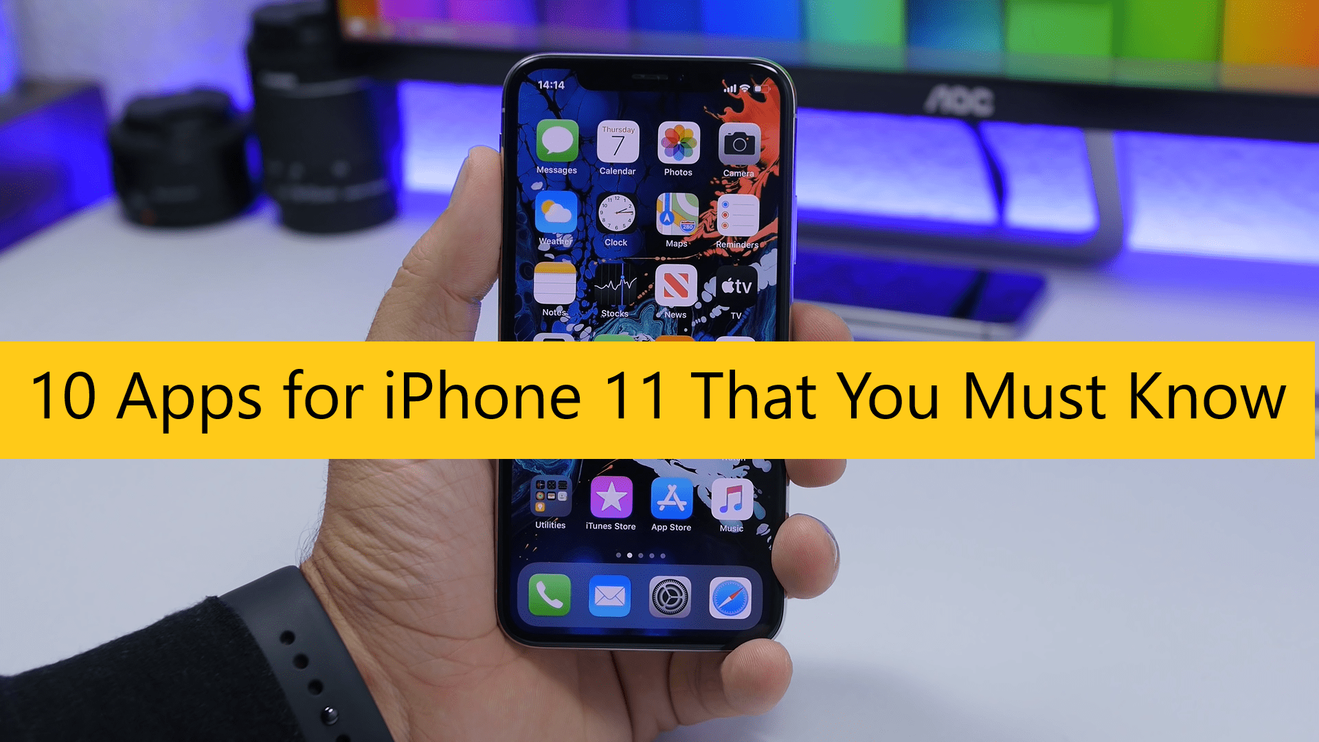 iPhone 11 apps