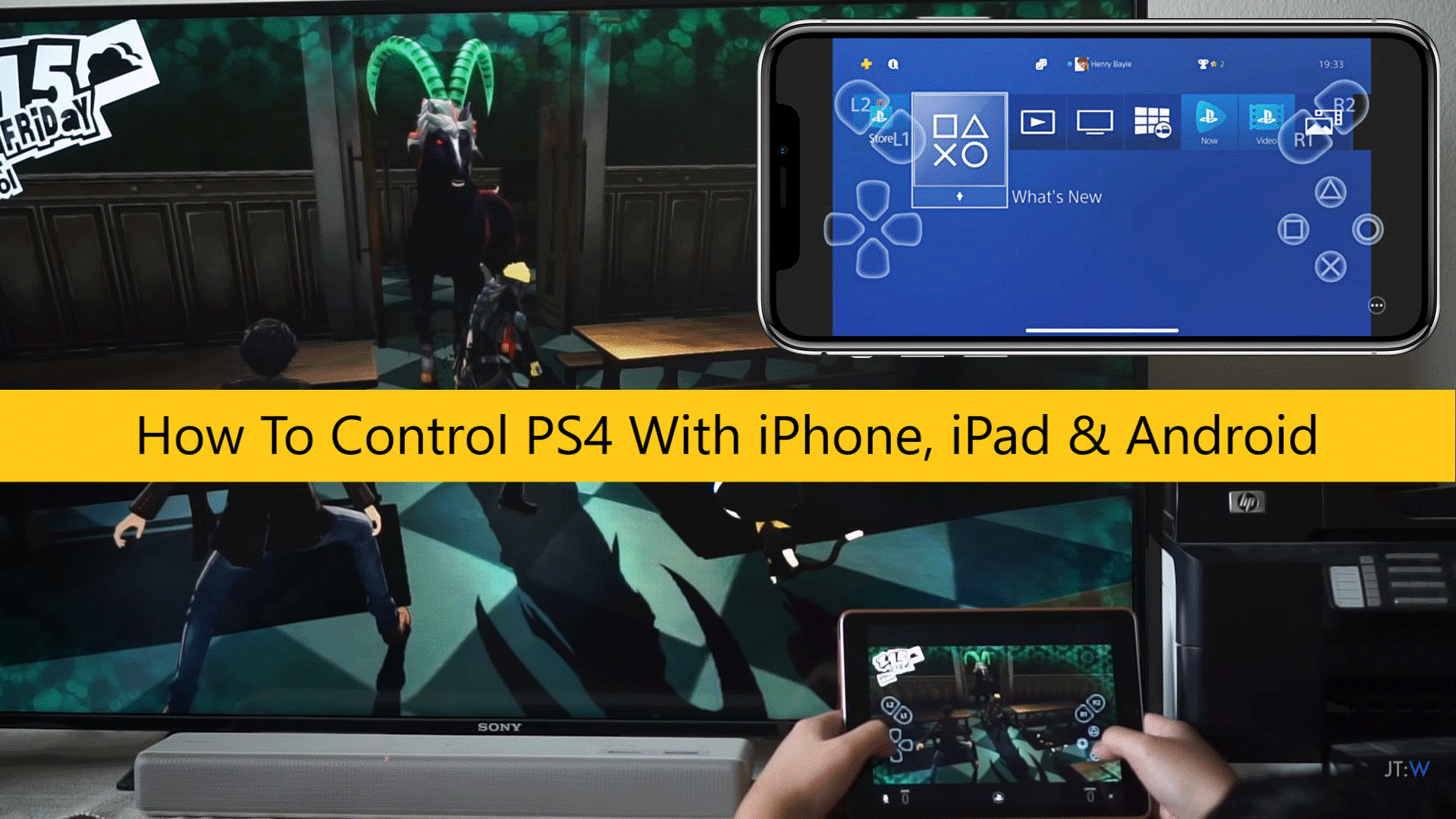 How To Control PS4 With iPhone