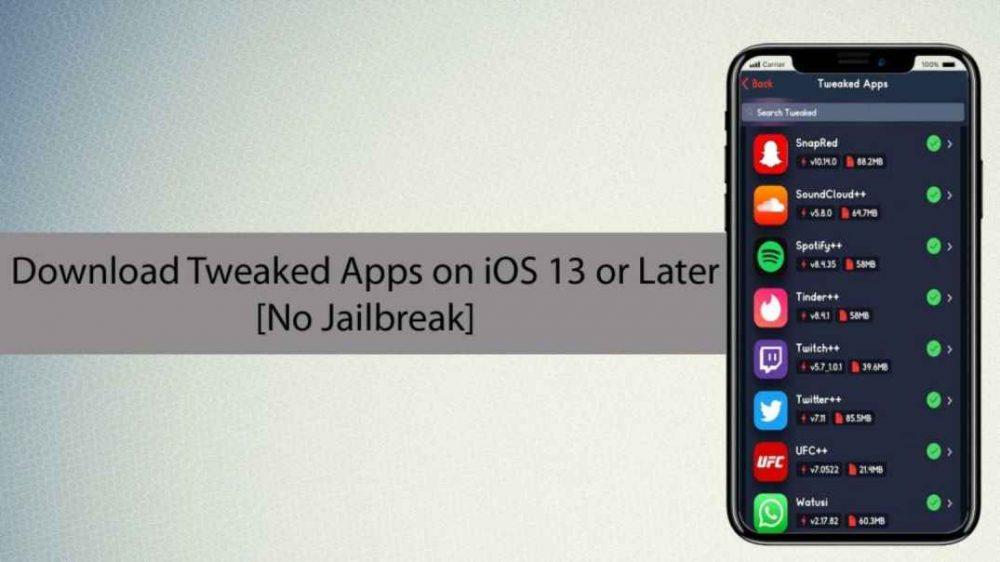 Tweaked Apps iOS 13